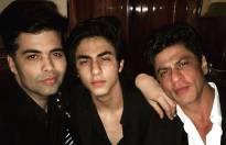 Karan Johar, Aryan Khan and Shah Rukh Khan