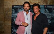 Irrfan Khan and Shah Rukh Khan