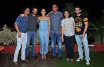 Shaan, Shekhar Ravjiani, Neeti-Mohan, Jay Bhanushali along with Deepak Dhar (MD & CEO, Endemol India)