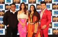 Shilpa Shetty, Anurag Basu, Geeta Kapur along with host Rithvik Dhanjani