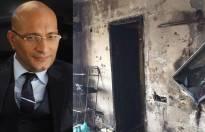 Amit Behl's burnt home