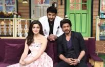 SRK and Alia with Kapil Sharma