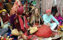 Wedding pics of Yuvraj Singh and Hazel Keech