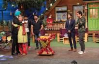 Ali Asgar's birthday celebration on The Kapil Sharma Show