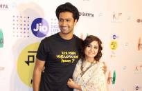 Vicky Kaushal and Shweta Tripathi