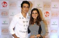 Sonu Sood with wife
