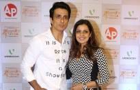 Sonu Sood with wife