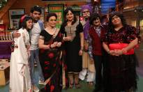 The cast of The Kapil Sharma Show along with their guest - Veteran actor Asha Parekh