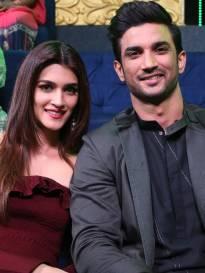 Kriti Sanon and Sushant Singh Rajput