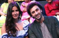 Ranbir Kapoor & Katrina Kaif on the sets of Sa Re Ga Ma Pa L'il Champs!