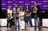 Kubra Sait, Punit Misra-CEO-Domestic Broadcast ZEEL, Konkona Sen Sharma, Vidya Balan, Vishal Bhardwaj