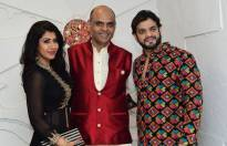 Ankita, Sandiip and Karan Patel