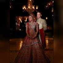 Aashka Goradia -Brent Goble (Christian wedding on 1 December and as per Hindu traditions on 3 December)