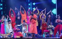 Baba Ramdev on the sets of Super Dancer