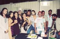 Aditya Redij celebrates birthday on the sets of Porus