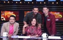 John Abraham visits the sets of Zee TV's DID Li'l Masters