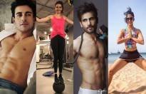 Meet the celebs who pump iron