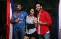 TV celebs enjoy watching Fifa finale!