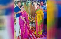 Bhagyashree's special visit to Sheeba for Ganpati