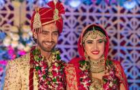 Rohit Purohit & Sheena Bajaj tie the knot