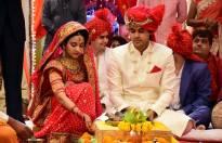 Naina and Sameer's wedding pictires