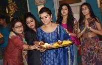 Havan on the set of Yeh Rishtey Hain Pyaar Ke