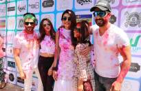 Celebs galore at Ekta Kapoor's Holi Invasion