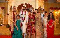 Charu Asopa and Rajeev Sen's blissful wedding pictures
