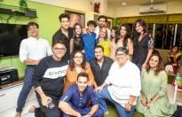 Celebs visit producer Sandip Sickand's house for Ganpati Darshan
