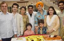 Mohsin Khan's birthday celebration on Rajan Shahi's set!