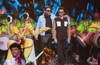 Ram Lakhan aka Anil Kapoor and Jackie Shroff on the sets of Dance+