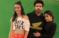 Karthik Aryan, Bhumi Pednekar, Ananya Pandey on Zee Tv's Pro Music Countdown