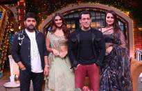 Dabbang Salman Khan on the sets of The Kapil Sharma Show