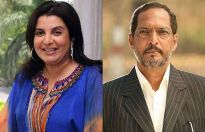 Farah Khan and Nana Patekar