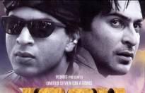 Shah Rukh Khan and Sharad Kelkar