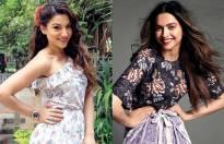 Gauahar Khan and Deepika Padukone