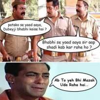 Salman ki class!