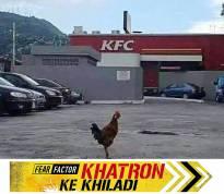 Khatron ka khiladi!