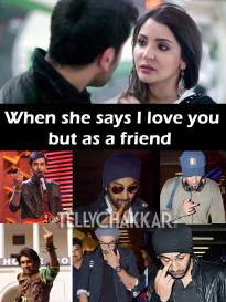 Friend-zoned!