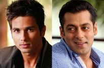 Shahid Kapoor and Salman Khan