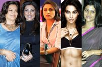 Moushumi Chatterjee, Sushmita Sen, Rani Mukherji, Bipasha Basu and Konkona Sen Sharma