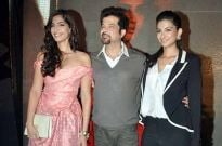 Anil Kapoor and daughters Sonam and Rhea