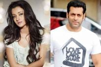 Trisha Krishnan and Salman Khan