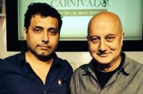 Neeraj Pandey and Anupam Kher
