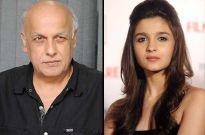 Mahesh Bhatt and Alia Bhatt