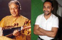 Ustad Amjad Ali Khan and Rahul Bose
