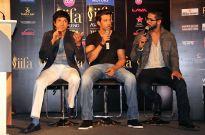 Farhan Akhtar, Hrithik Roshan and Shahid Kapoor