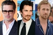 Brad Pitt, Christian Bale, Ryan Gosling