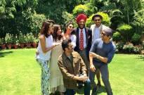 'Dil Dhadakne Do' crew meets Milkha Singh
