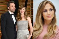 Ben Affleck, Jennifer Garner and Jennifer Lopez
